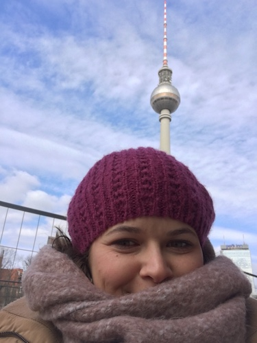 Me in Berlin with the TV tower behind me.