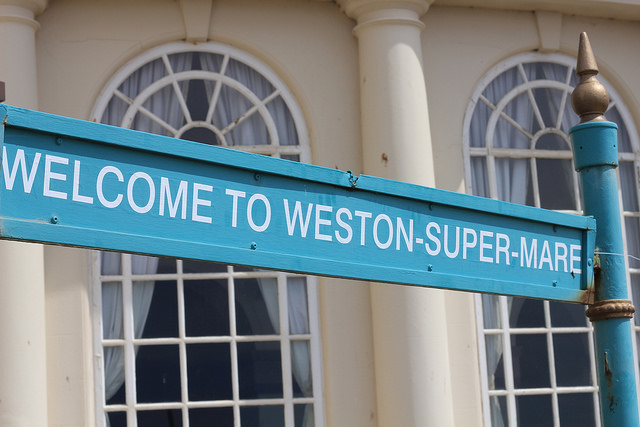 Welcome to Weston-super-mare
